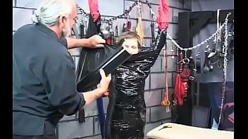 Wanton maid goes pussy