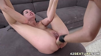 Tiny Roxy Sky gets her ass filled up