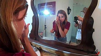 Cameraman harassing model while getting ready - Bibi Tsunami - Sandro Lima 15 min
