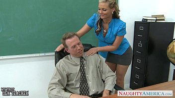 Busty babe Phoenix Marie gets ass fucked in classroom thumbnail