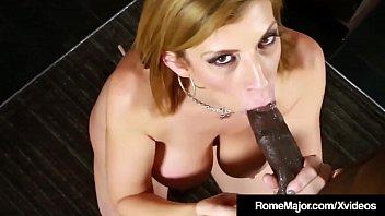 Big Black Cock Rome Major Throat Fucks Milf Queen Sara Jay!