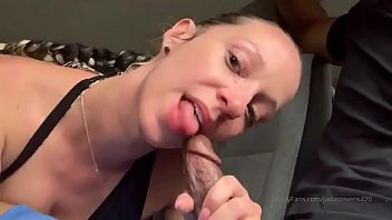 Jada Stevens only fans blowjob