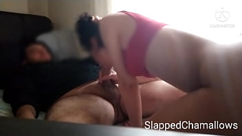Nasty 69 deepthroat from Turkish couple, cum on face and tongue !