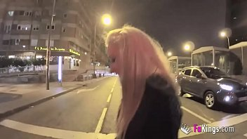 Blonde Teen Monica Is Desperate For Jordi! She Came From Half Spain Away Just To Be Impaled