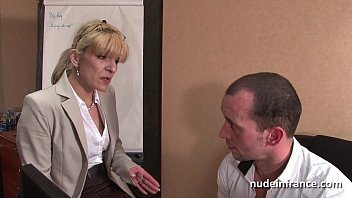 Unc nude women - Amateur mature blonde anal fucked hard at office