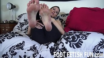 You are going to clean my stinky feet