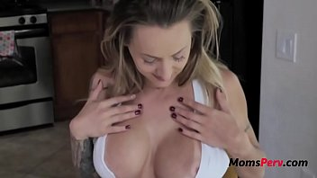 Blonde Mom Makes Son Feel Better- Natasha Starr