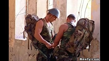 Gay black samples Military hunk get rammed by his mate