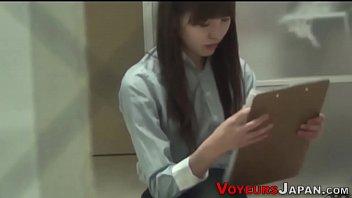 Japanese teenager toying