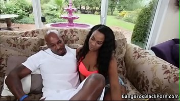 Thick Ebony Nympho Gets Fucked
