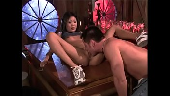 Filthy Asian Hoe Asia Carrera Gives Head Then Gets Her Wet Tight Cunt Drilled For Hot Facecum