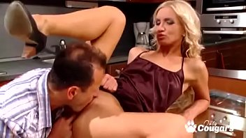 Horny Wife Cameron Gold Swallows Hubbys Whole Load