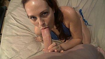 Sexy brunette Josi Valentine wants big cock