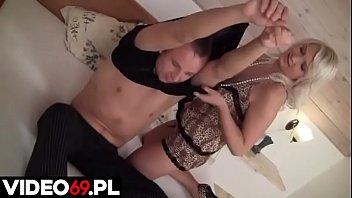 Polskie Porno - Mocne Dymanie Cycatej Blondynki Z Dużą Dupą