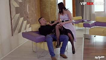 VIP SEX VAULT - (Felicia Kiss & Mugur) Sexy Hungarian Rides Her Husband When They Arrive On Their New House