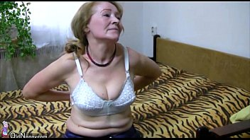 OldNanny Old granny is playing with young man and sextoy  - 69VClub.Com