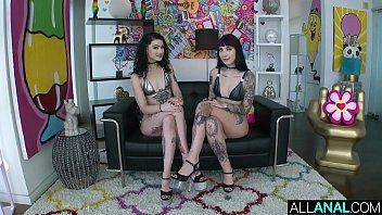 ALL ANAL Charlotte Sartre and Lydia Black are lubed up and ready 12 min