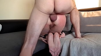 Submissive girlfriend serves as anal toy thumbnail