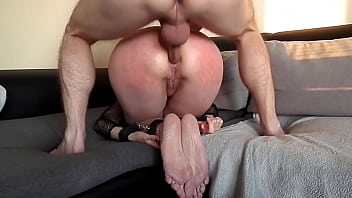 Submissive Girlfriend Serves As Anal Toy