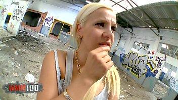 Hot bigtits spanish blonde milf fucking a homeless guy