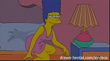 Bart and lisa simpson xxx - Lesbian hentai - lois griffin and marge simpson