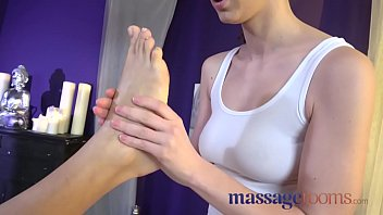 Massage Rooms Czech beauty gets full service treatment and multiple orgasms 8 min