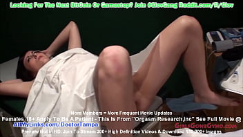 $CLOV - Tina Lee Comet Undergoes INTENSE Orgasm Research While Bound At The Gloved Hands of Doctor Tampa & Nurse Nyxon ONLY At GirlsGoneGyno.com