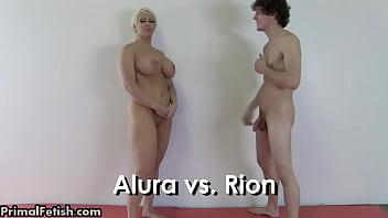 Wrestling Babes Dominate the Men 11 min