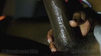 sexy Layla Red sucking big black dick in my backseat BBC @Handsome10in teaser