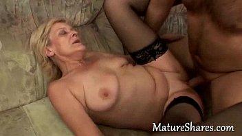 Mature grany tube - Amateur grandma nailed hard