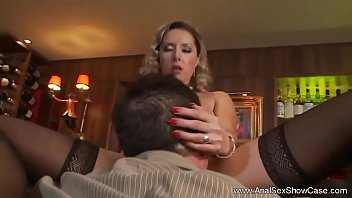 Sexy Blonde Bar Maid Anal