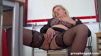 Groupbang queen Marina fucked by the whole gang thumbnail