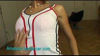 Amazing Leona strip her dress off and lapdances 12 min
