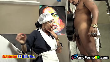 Most naughty housekeeper in Brazil