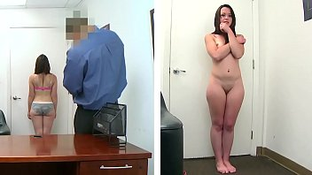 BANGBROS - Petite Brunette Izzy Ryder On Backroom Facials