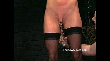 Busty Danii Blacks kinky tit t. and extreme nipple stretching and hot wax