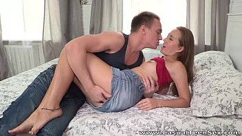 Casual Teen Sex - Aroused teeny Limonika wants sex now teen porn