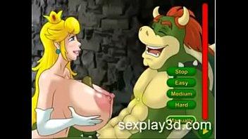 3D Hentai sex game princess Peach is a prisioner 7 min