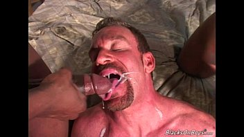 01 gay old Hairy middle aged man gets fucked by blacks