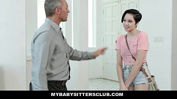 MybabysittersClub - Cute Babysitter Paid In Cum