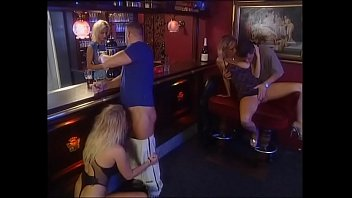 Little but hot orgy in a night club