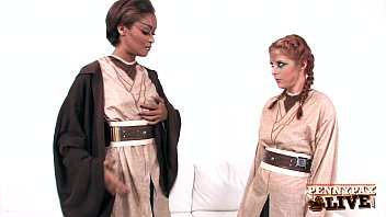 Hottest Lesbian Cosplay With Penny Pax & Skin Diamond! 12 min