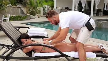 A massage full of dick for Jada Stevens