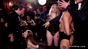 Hosted lesbian sex - Orgy blowjobs and oral sex in bdsm party