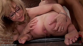 Mature dom injects assholes to babes