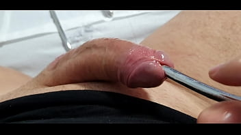 hard urethra gay big dick fingering porn inside medical exam Sounding urethra gay big open dick porn