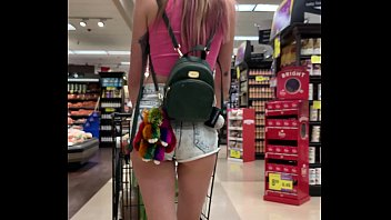 Petite Babe Haley Reed Flashes Tits In Grocery Store Then Fucks You Pov 11 Min