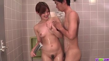 Mind blowing shower sex scenes with Yumi Maeda 12 min