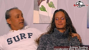 Erster Dreier für deutsches paar beim casting