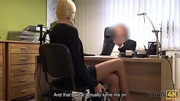LOAN4K. Adorable miss has spontaneous sex for cash with loan manager